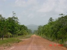 real estate in Belize- good access road