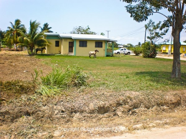 Belize real estate located across from High School Dangriga