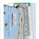 masterplan of the Placencia Peninsula is a prime water front lot available for sale in Belize