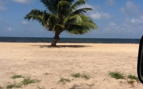 gorgeous beachfront Belize real estate in Dangriga